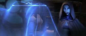 Asajj Grievous hologram