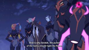 Haggar and Lotor's Generals with Sendak