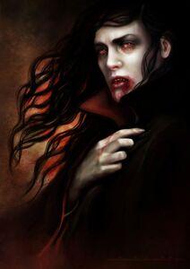 Vampires gothic art male