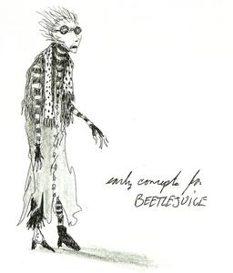 Beetlejuice concept art