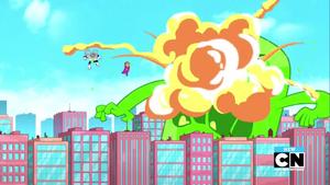 Exploding Slime Monster