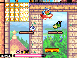 Green squeaker and doc vs kirby