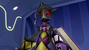 Kingdom Hearts Birth By Sleep Mimic Master Boss Fight (PS3 1080p)