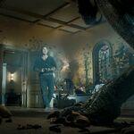 Owen and Indoraptor in Maisie's room.jpg