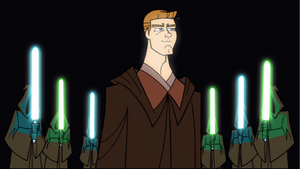 Anakin Jedi Knight 2D