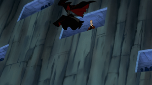 Asajj Ventress cloak leap