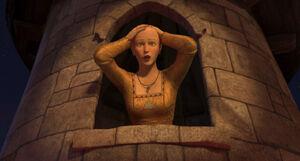 Bald Rapunzel