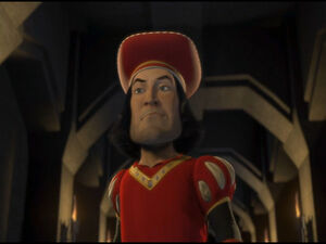 Lord Farquaad's first appearance