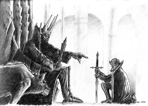 Melkor and Sauron
