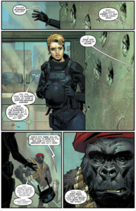 Monsieur Mallah and maggie sawyer