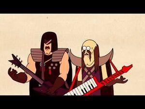Regular Show - Trashboat (musicians fight)