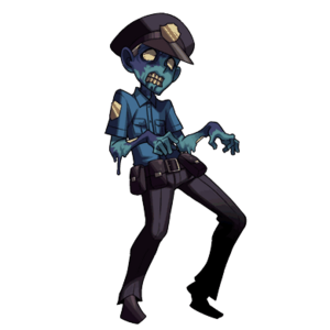 Zombie Cop (Clan Master)
