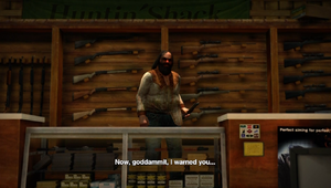 Cletus in his store
