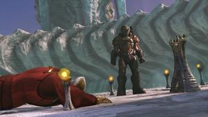 Doomguy betrays Seraphim