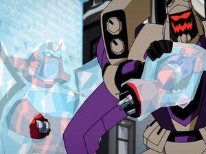 Megatron Rising 1 Ratchet Blitzwing Key