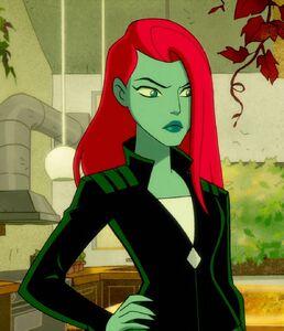 Pamela Isley Harley Quinn TV Series 0001