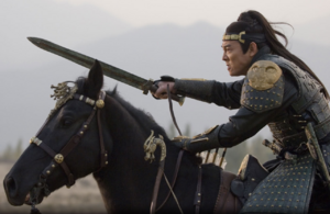 The dragon emperor and his horse