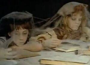 Child-ghosts quiet room