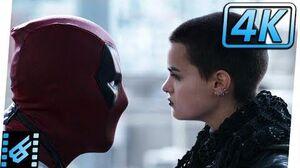 Deadpool Meets Negasonic Teenage Warhead Deadpool (2016) Movie Clip