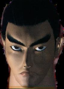 Kazuya Mishma Tekken 2 portrait render