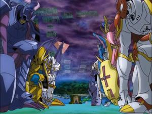 Royal Knights bows