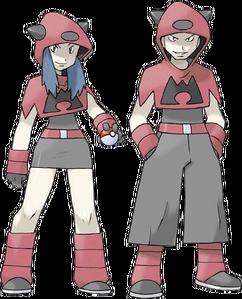 Ruby Sapphire Team Magma Grunts