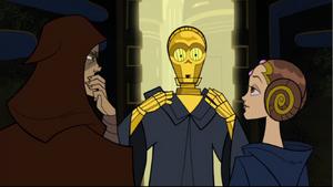 Anakin Skywalker Amidala 3PO