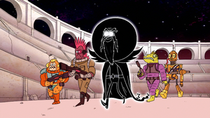 Anti-Pops and His Bounty Hunter Crew