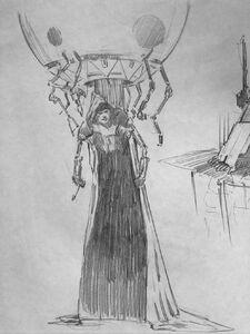 Darth Sidious Rise of Skywalker concept art 1