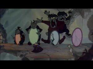Gnorga, the queen of mean - Cloris Leachman - A Troll in Central Park HD