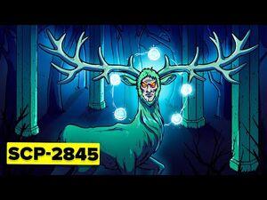 SCP-2845 - Alien God Crash Lands on Earth - THE DEER (SCP Animation)