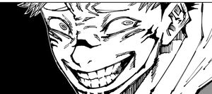 Sukuna's grin