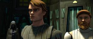 Asajj Ventress Anakin Kenobi cloak