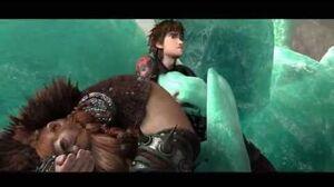 How To Train Your Dragon 2 (HTTYD2 SPOILER) - Stoicks Death (Full Scene)