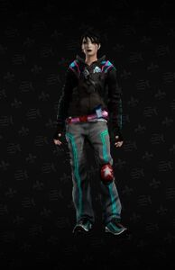 Unlockable Decker outfit in Saints Row The Third