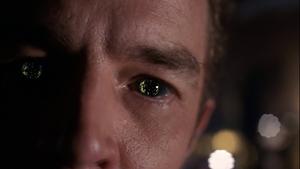 Brainiac close-up eyes