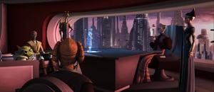 Chancellor Palpatine negoitates
