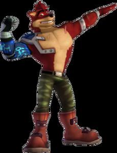 Crash of the Titans Crunch Bandicoot