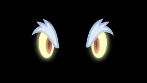 Grogar's eyes piercing the darkness S9E2