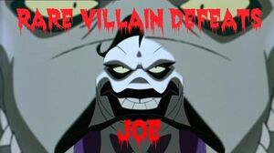 Rare Villain Defeats Joe-0