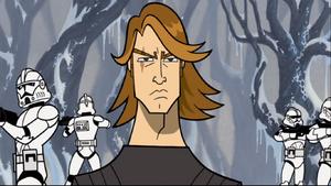 Anakin Skywalker snow-scope
