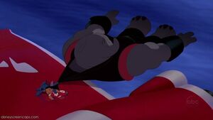 Captain Gantu is Defeated