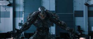 Carlton Drake and Riot (Klyntar) (Earth-TRN688) from Venom (film) 001
