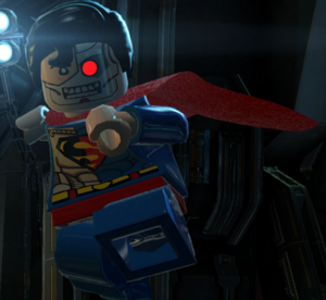 Cyborg Superman Lego Batman 001