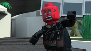 Red Skull Lego