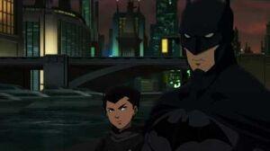 Son of Batman - Batman Meets His Son Damian (Robin) For The First Time