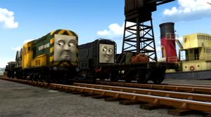 Bert with Diesel in Season 16