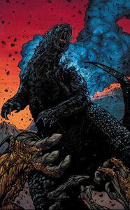 Godzilla's victorious roar
