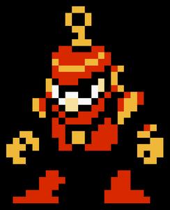 Ring Man Sprite - Mega Man 4
