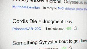 The Cordis Die's YouTube